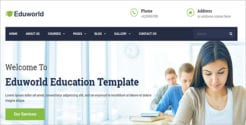 Education Courses Online Drupal Theme