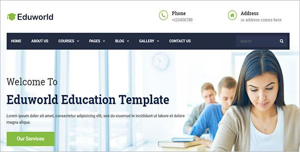 Education Courses Online Drupal Theme