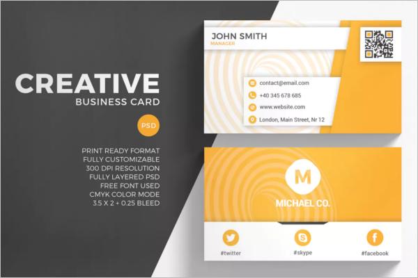 Elegant Creative Business Card Design