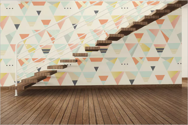 Elegant Wall Mockup Template