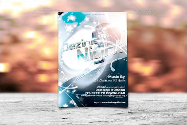 Event Flyer Mockup Template