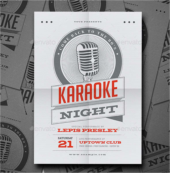 Event Flyer Template PowerPoint