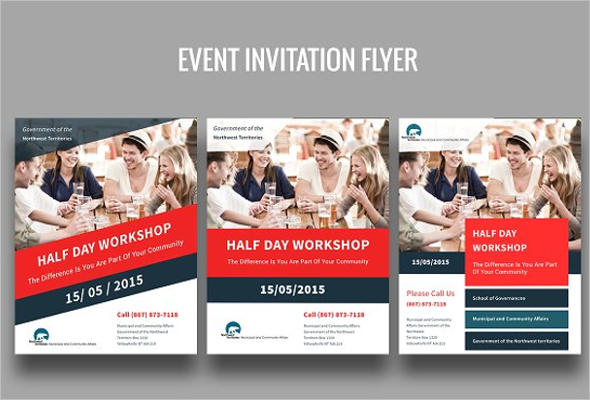 Event Invitation Flyer Template