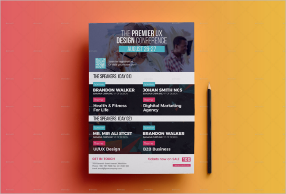 Event Planner Flyer Template