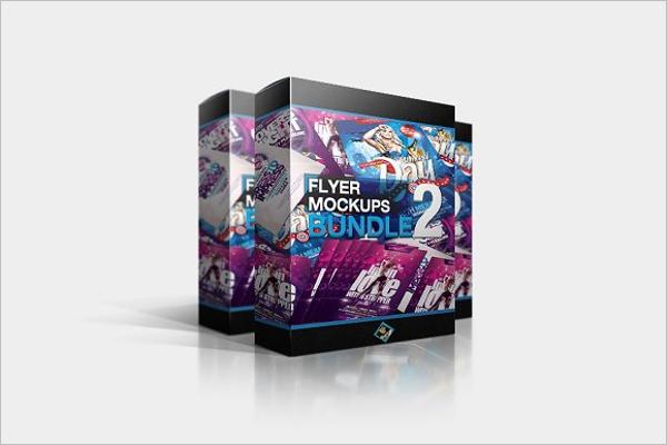 Flyer Mockups Bundle Design