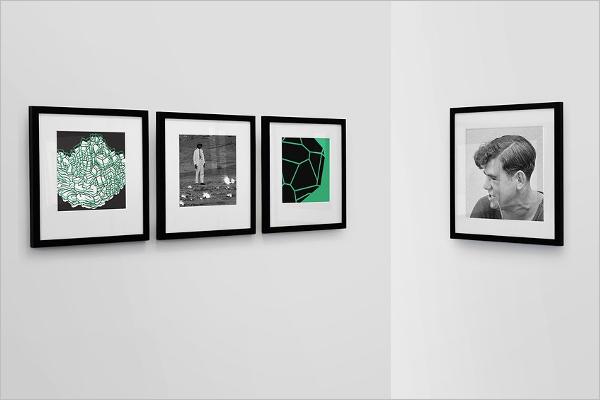 Frame Gallery Mockup Design