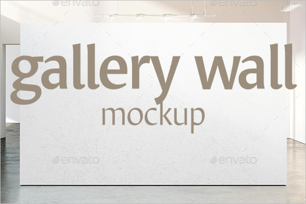 Gallery Wall Mockup Design