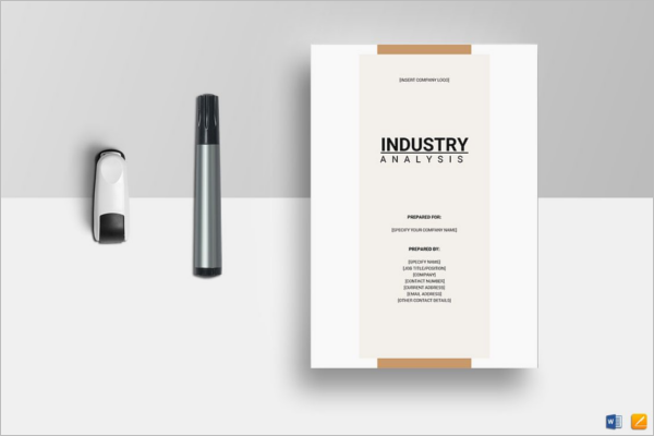 Industry Analysis Template Word