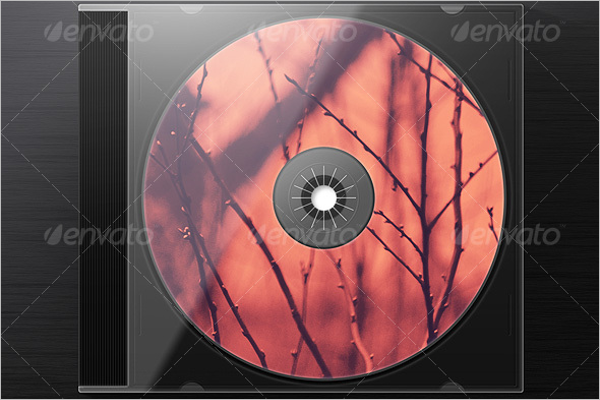 Jewel Case Template PSD