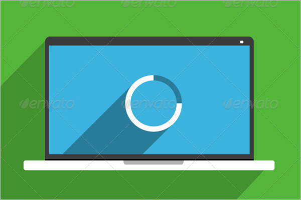 Laptop Mockup Clean Design