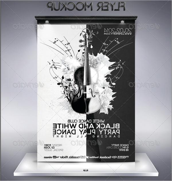 Long Flyer Design Mockup