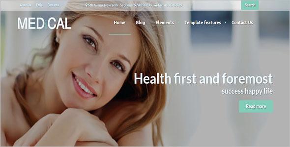 Medical Healthcare Drupal Theme