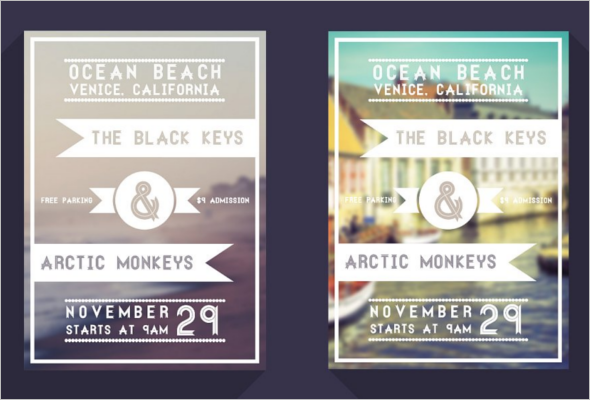 Minimal Event Flyer Design
