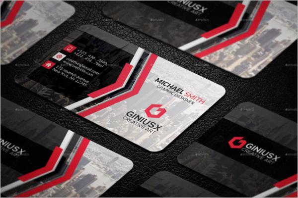 Minimalistic Creative Business Card Template
