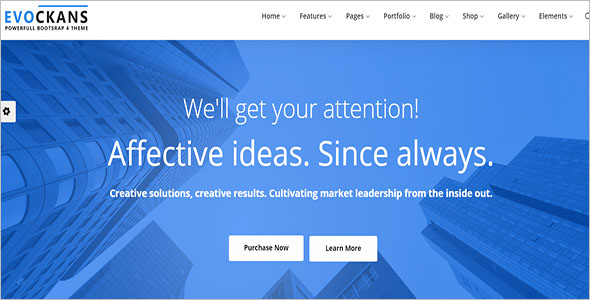 Multi-Purpose Business Drupal 8 Theme