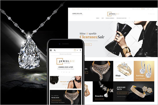 PHP Jewelry Template