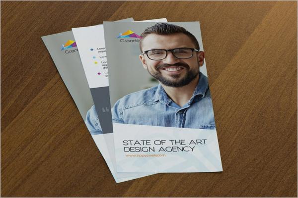 PSD Flyer Mockup Design