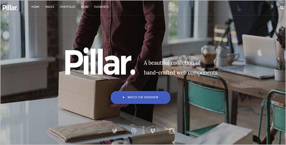 Pillar Drupal 8 Theme