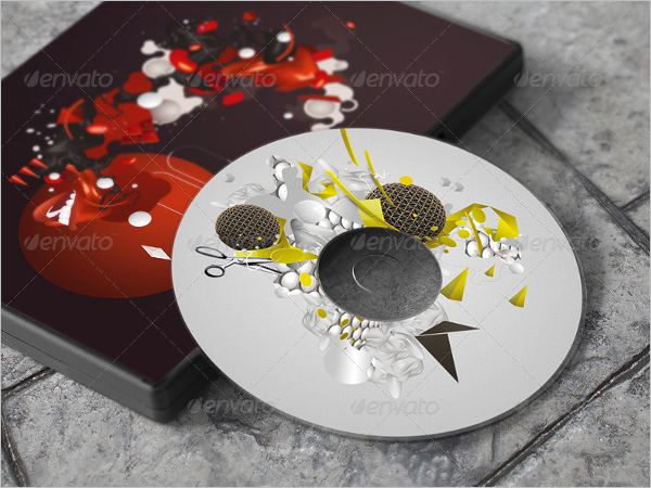 Printable DVD Case Template