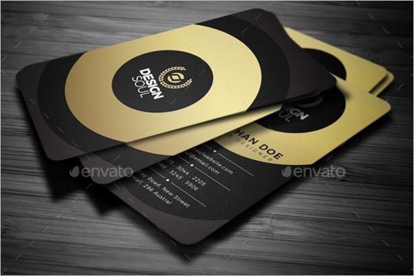 Realistic Creative Business Card Template