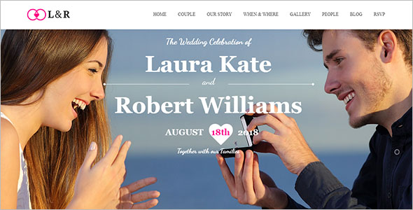 Responsive Joomla Wedding Template
