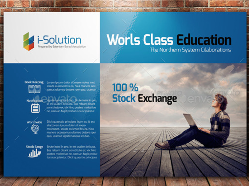 Simple Education Business Card Template