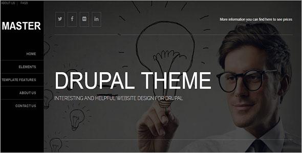 Unique Drupal Responsive Theme