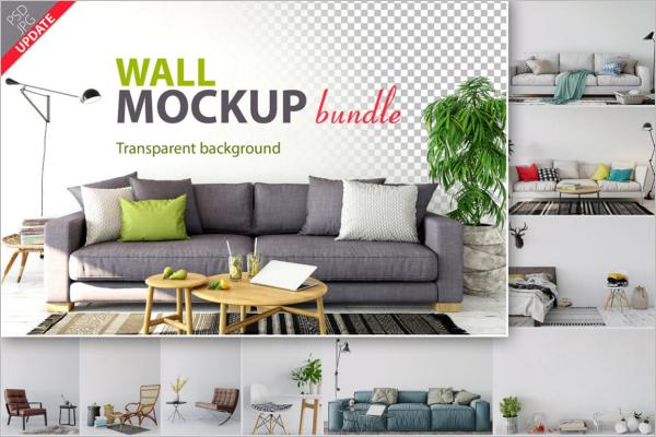 Wall Mockup Bundle