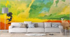 38+ Realistic Wall Mockup PSD Templates