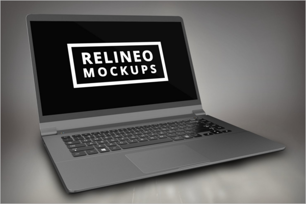 Windows Laptop Mockup Template
