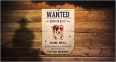 50+ Printable Wanted Poster Templates