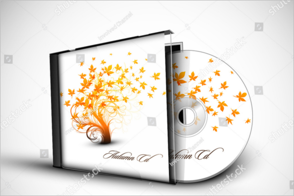 3D Presentation CD Case Template
