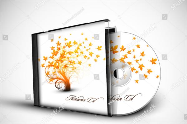 3D Presentation CD Case Template