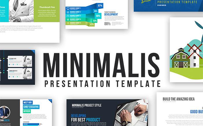 Minimalis Powerpoint Template PowerPoint Template