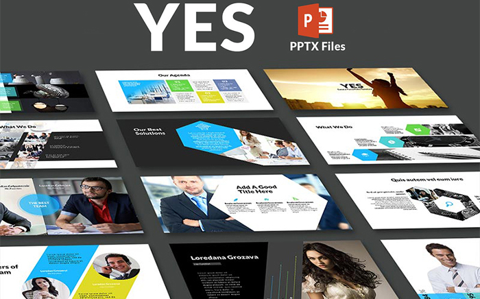 Yes - PowerPoint Template