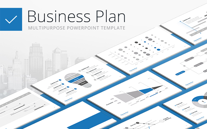 Business Plan PPT - Multipurpose PowerPoint Template