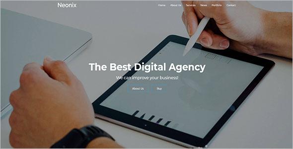 Agency Portfolio Bootstrap Theme