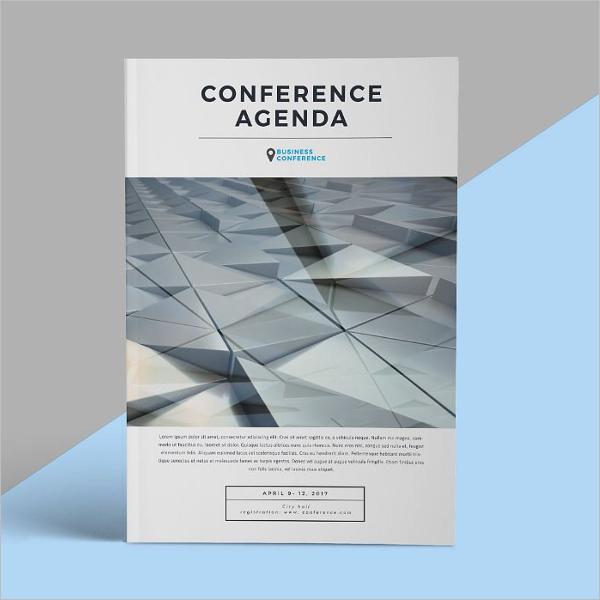 Agenda Brochure Template