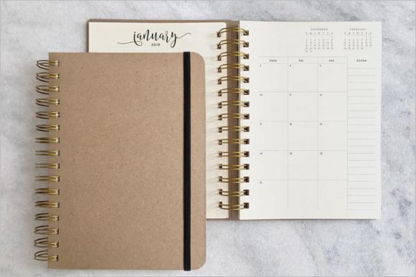 Agenda My Planner Template