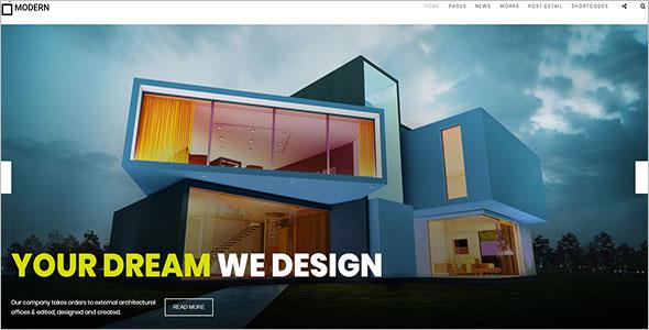Architecture & Interior Design HTML Template