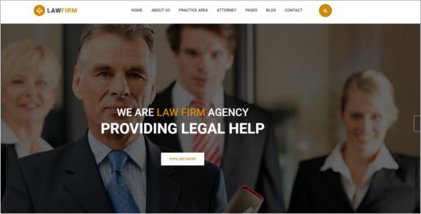Associates Website Template