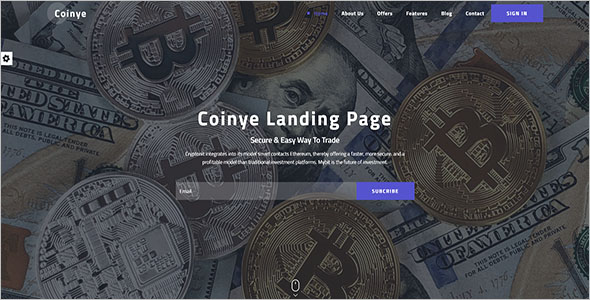 Attractive HTML Landing Page Template