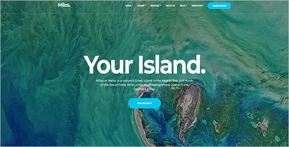 Attractive HTML Website Template