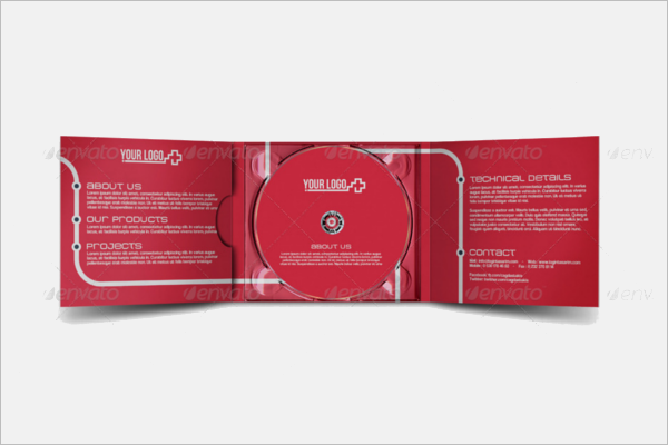 Audition CD Case Template