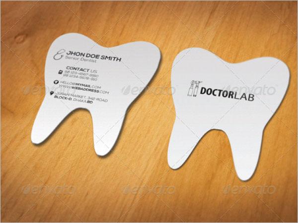 Awesome Dental Care Business Card Design