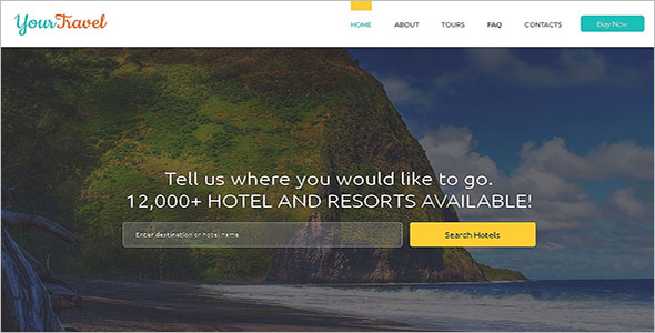 Awesome Travel HTML Template