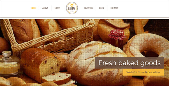 Bakery Food Drupal Template