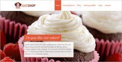 Bakery Shop WordPress Theme