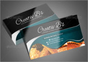 Bakery's & Catering Services business Card