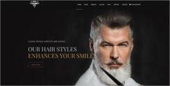 Barber & Salon Joomla Template